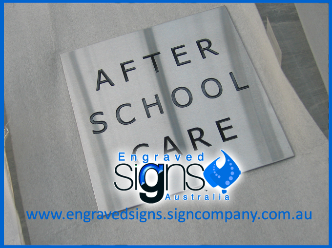 After School Care Sign