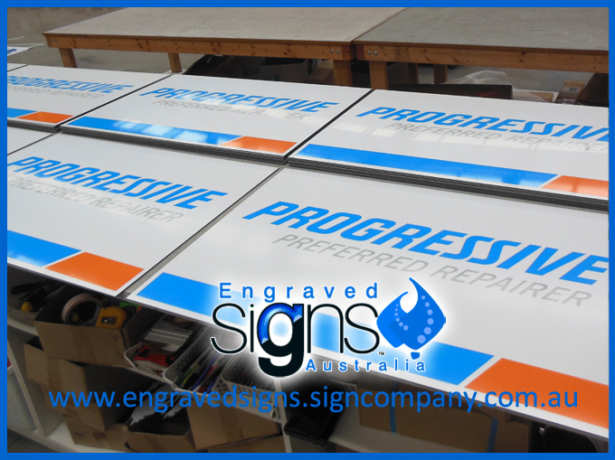 Supplies of Alubond for signage