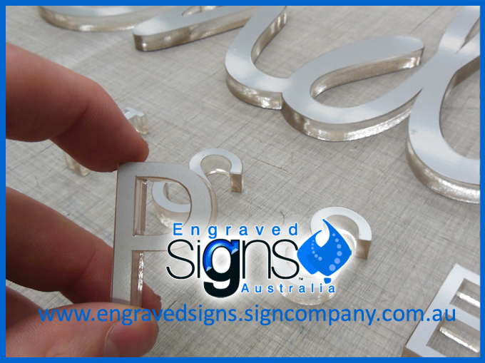 Lots of orders of lettering for shopfitting companies