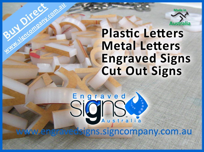 Plastic Letters Metal Letters Engraved Signs Cut Out Signs